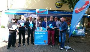 Samstag ist Infostandtag: Wahlkampfunterstützung der JA Rems-Murr in Schorndorf