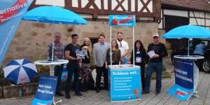 Aktionstag: JA in Neckartenzlingen, Winnenden und Berlin aktiv
