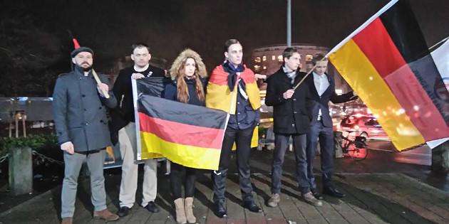 JA in Aktion: Kundgebung in Weil am Rhein, große Flyeraktion in Fellbach
