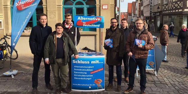 Mit bayerischer Unterstützung: Drei Tage Dauerwahlkampf