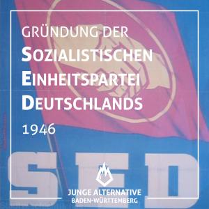 Gründung der Sozialistischen Einheitspartei Deutschlands 1946