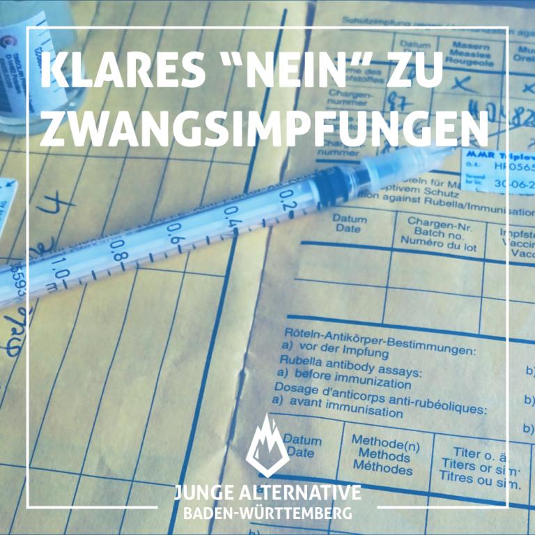 JA BW gegen Impfpflicht