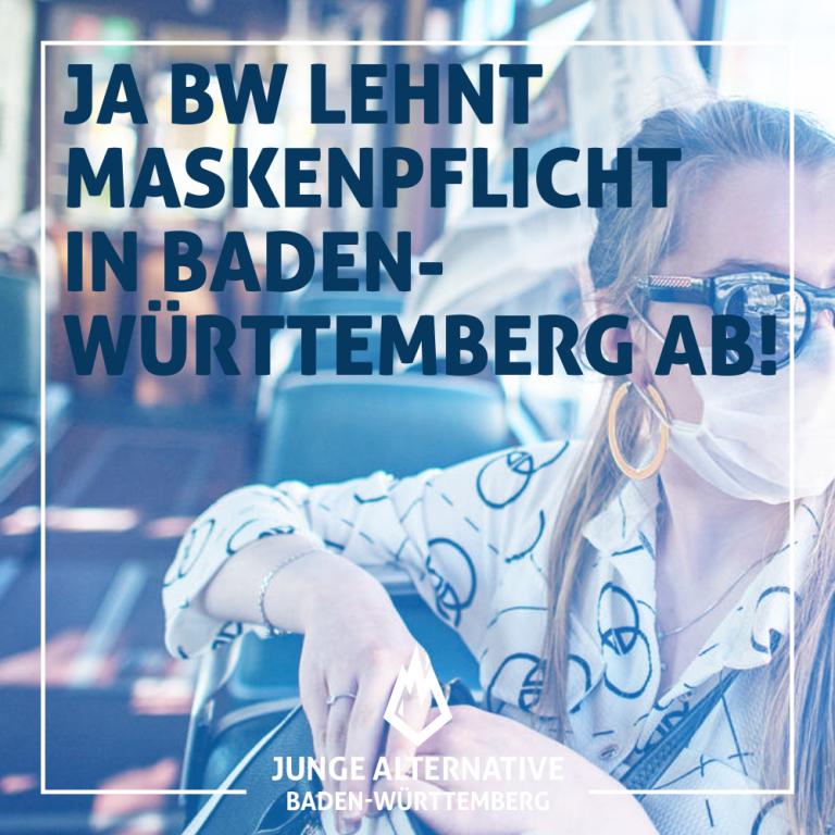 Maskenpflicht ab Montag in BW