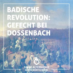 Badische Revolution: Gefecht bei Dossenbach 1848