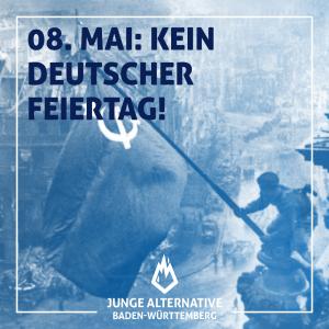 Der 8. Mai ist kein deutscher Feiertag
