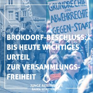 Brokdorf-Beschluss 1985
