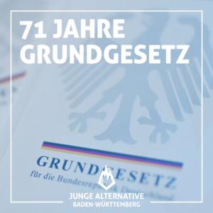 71 Jahre Grundgesetz