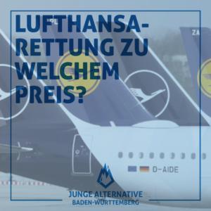 Lufthansa-Rettung zu welchem Preis?