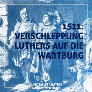 Verschleppung Martin Luthers auf die Wartburg
