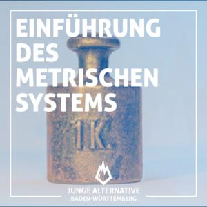 Einführung des Metrischen Systems