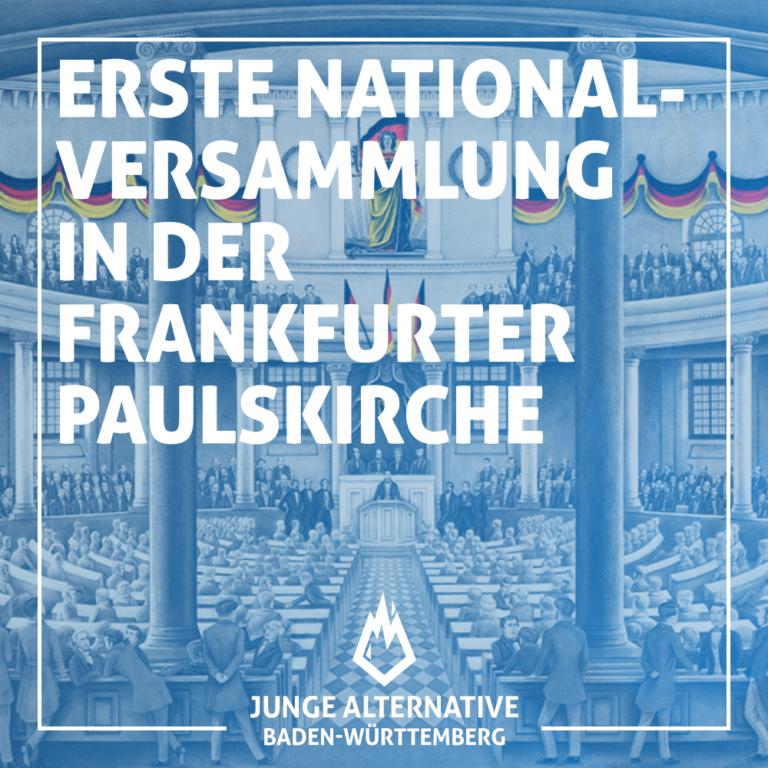 Erste Nationalversammlung 1848