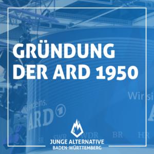 Gründung der ARD 1950
