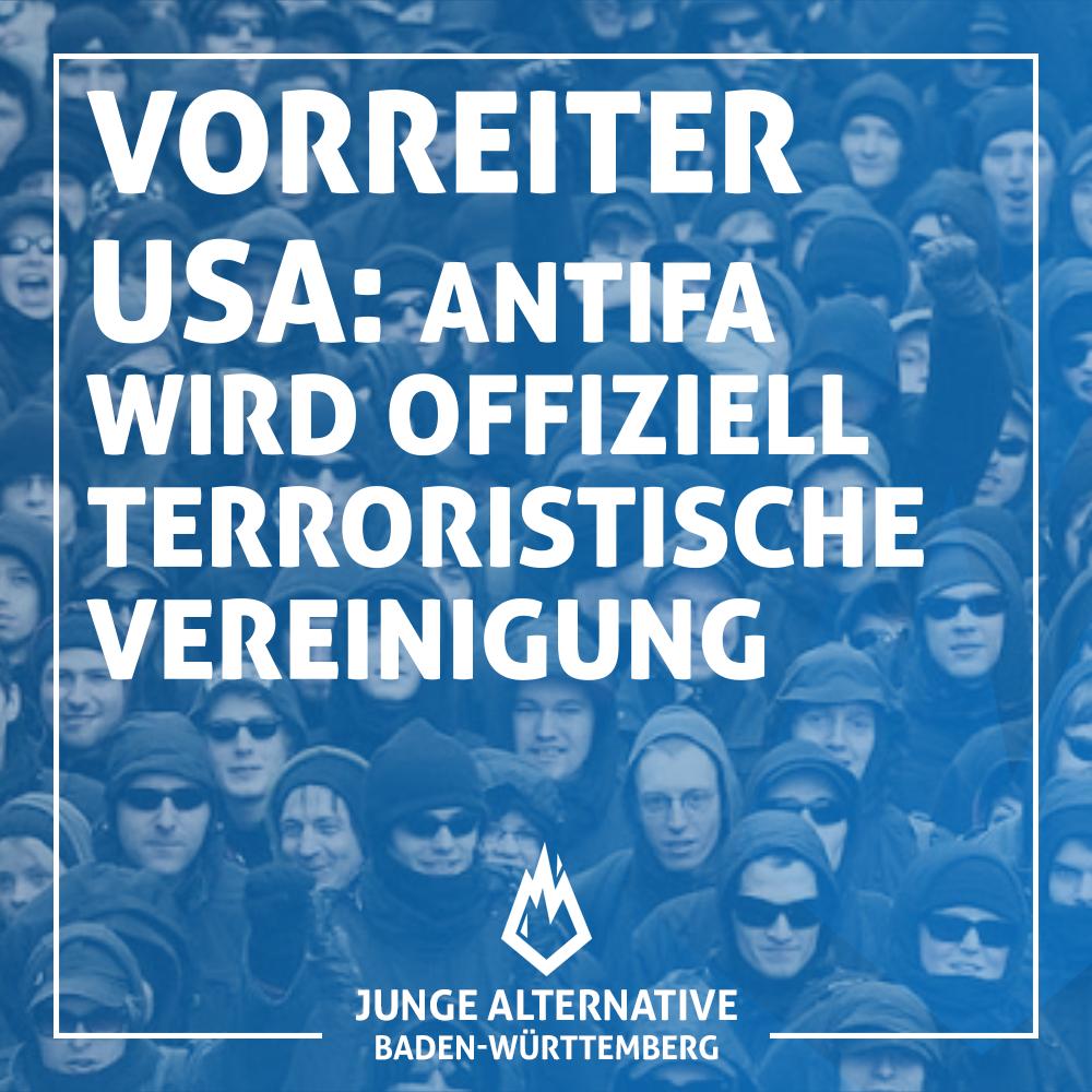 USA wird AntiFa zu Terrororganisation erklären