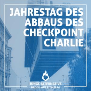 """Vor 30 Jahren: Abbau des """"Checkpoint Charlie"""" in Berlin"""