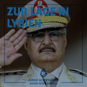 Zur Lage in Libyen