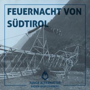 """59. Jahrestag der """"Feuernacht"""" von Tirol"""