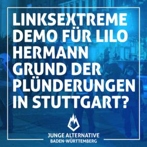 Zum aktuellen Stand der Stuttgarter Unruhen