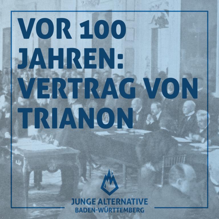 100 Jahre Vertrag von Trianon