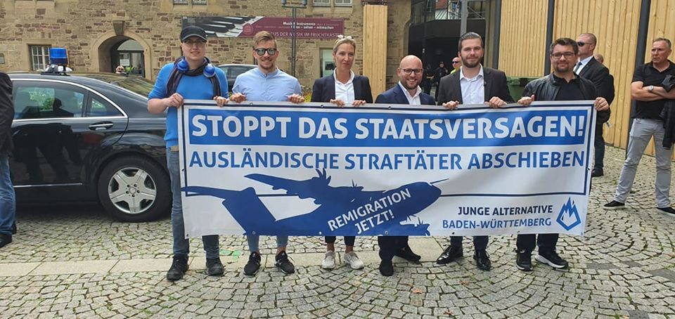"AfD Demo – ""Zurück zum Rechtsstaat"""
