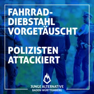 Gezielte Gewalt gegen unsere Polizei nimmt zu