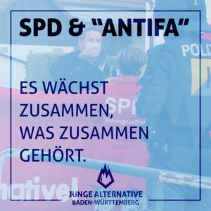 """Schulterschluss der SPD mit """"Antifa"""""""