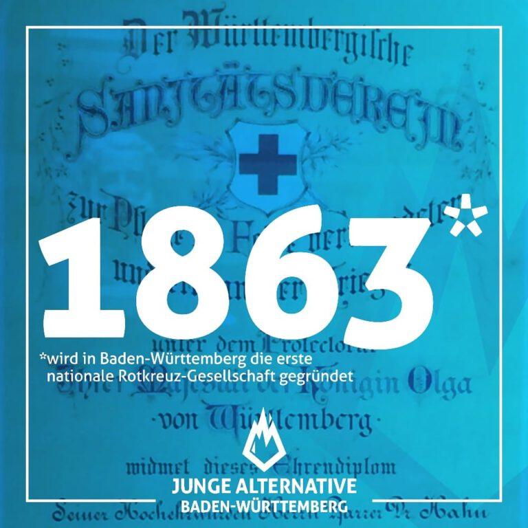 Vor 157 Jahren – Gründung des Württembergisches Sanitätsvereins