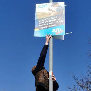 Wir unterstützen die AfD!
