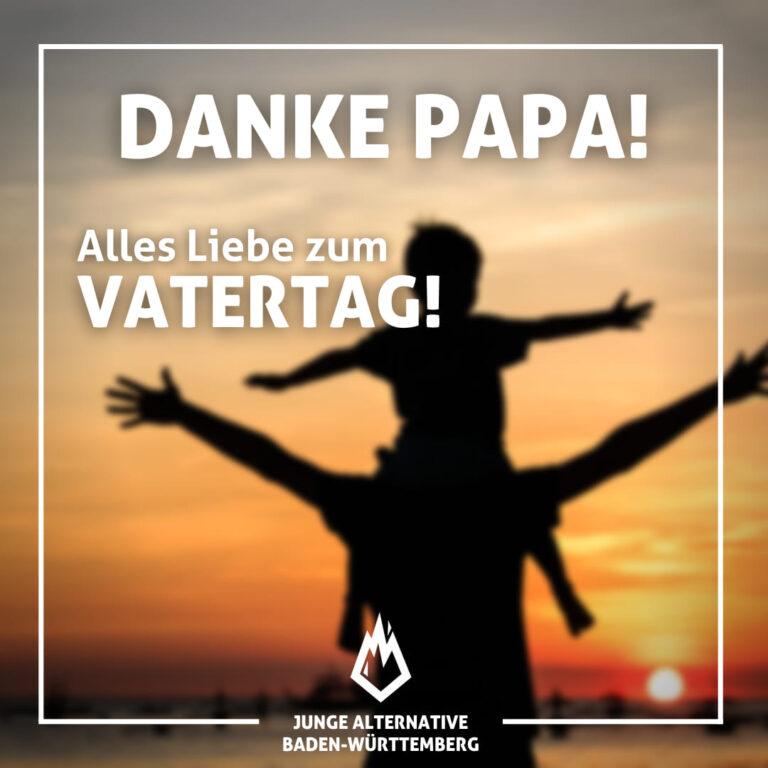 Wir wünschen allen Vätern einen wunderschönen Vatertag und allen anderen einen schönen Feiertag!