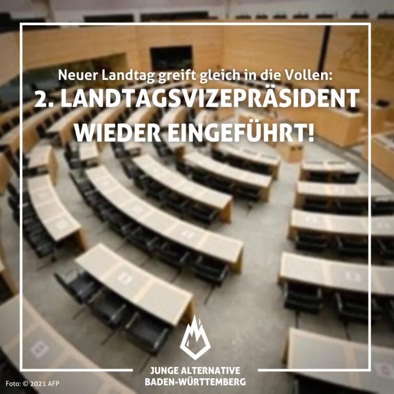 Neuer Landtag greift gleich in die Vollen