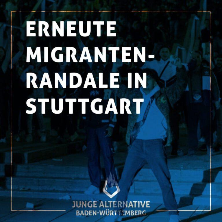 Erneute Migranten-Randale in Stuttgart